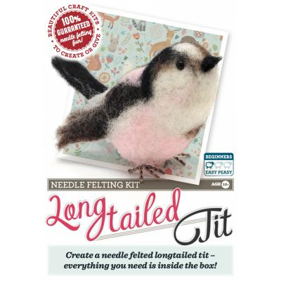 Long Tailed Tit Needlefelting Kit