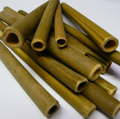 50 Bamboo Bee Tubes Ready Cut