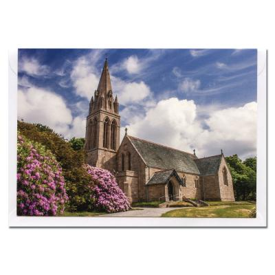 Ardwell Church Dumfries and Galloway Blank Photographic Greetings Card A6