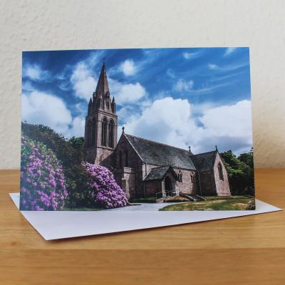 Ardwell Church Dumfries and Galloway Photographic Greetings Card