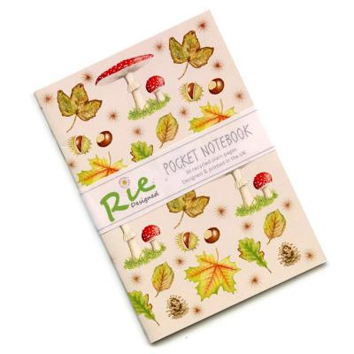 Autumn A6 Recycled Notebook