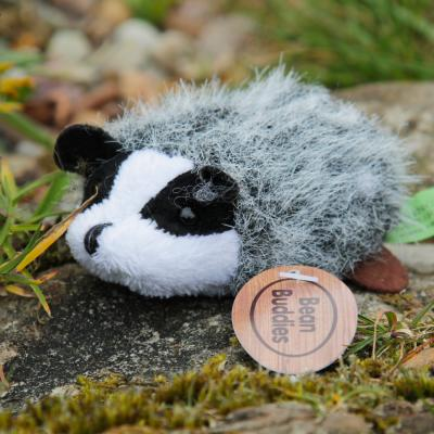 Mini Badger Bean Buddy Beanie Soft Toy