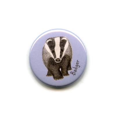 Badger Fridge Magnet
