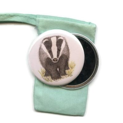 Badger Pocket Handbag Mirror