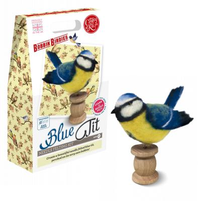 Bluetit Needlefelting Kit