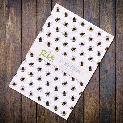Bumblebee A5 Recycled Notebook