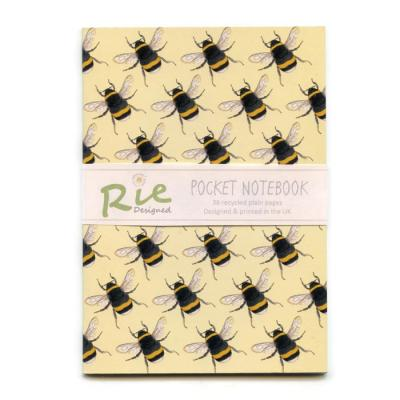 Bumblebee A6 Recycled Notebook