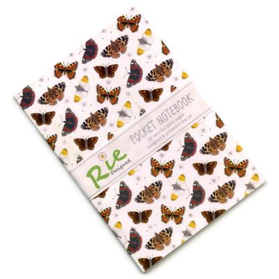 British Butterflies A6 Recycled Notebook