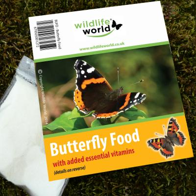 Wildlife World Butterfly and Bee Nectar Food Attractant