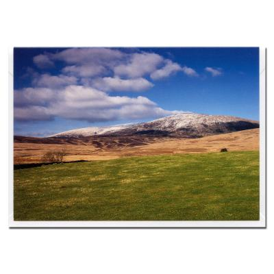 Cairnsmore of Fleet Blank Photographic Greetings Card A6