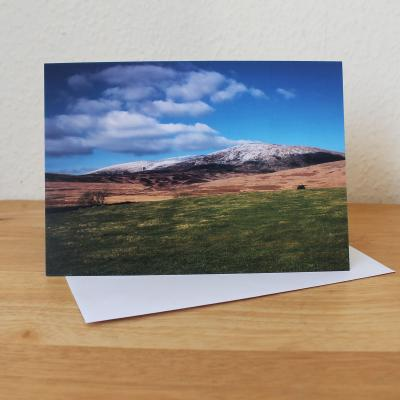 Cairnsmore of Fleet Galloway Forest Park Photographic Greetings Card