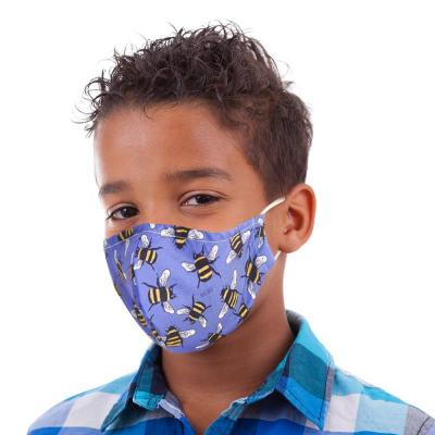 Childrens Bumblebees Bees Reusable Mace Mask Covering