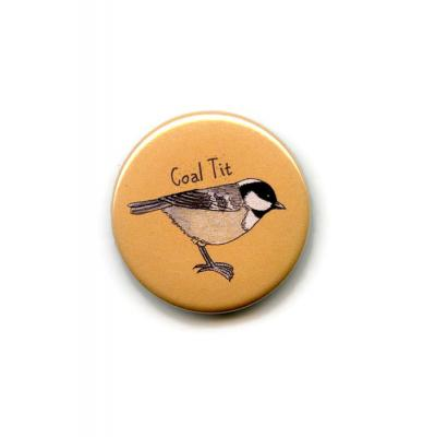 Coal Tit Fridge Magnet