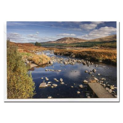 Doon Valley Blank Photographic Greetings Card A6