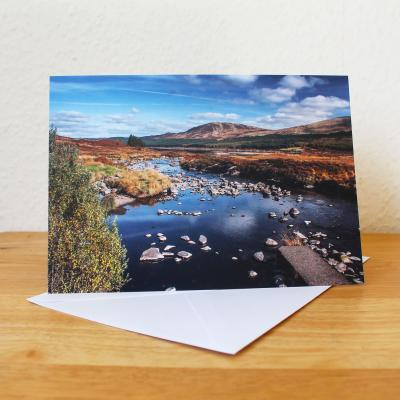 Doon Valley Blank Photographic Greetings Card