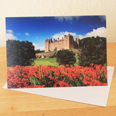 Drumlanrig Castle Blank Photographic Greetings Card