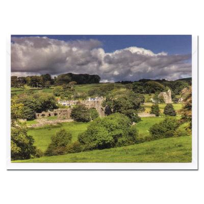 Dundrennan Abbey Blank Photographic Greetings Card A6