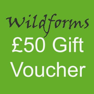 Wildforms Fifty Pounds Gift Vocher