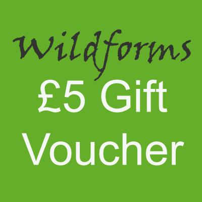 Wildforms Five Pounds Gift Voucher