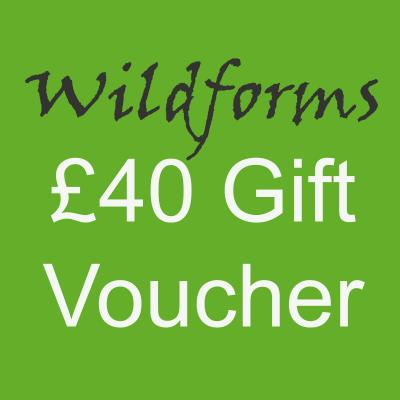 Wildforms Forty Pounds Gift Voucher