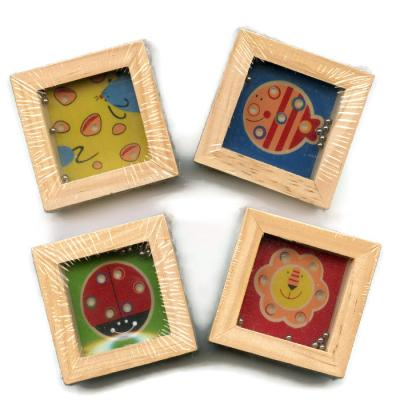 Four Wooden Animal Puzzles