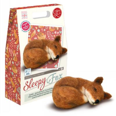 Fox Needlefelting Kit