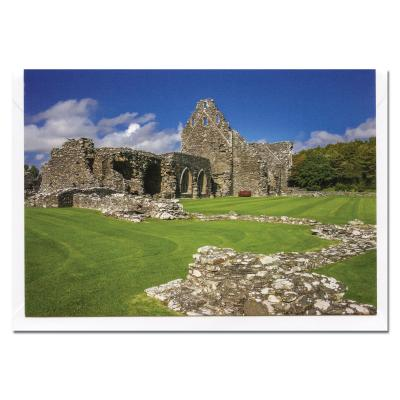 Glenluce Abbey Blank Photographic Greetings Card A6