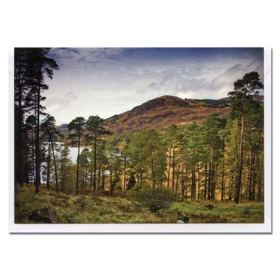 Glentrool Dumfries and Galloway Blank Photographic Greetings Card A6