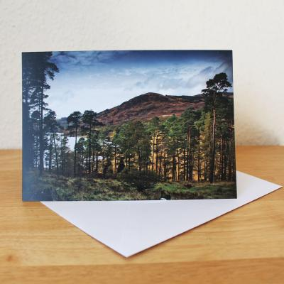 Glentrool Blank Photographic Greetings Card