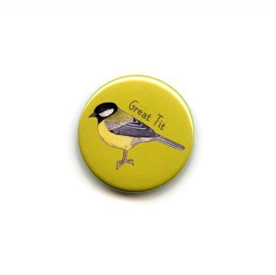 Great Tit Fridge Magnet
