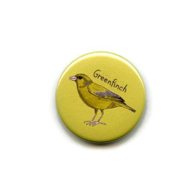 Greenfinch Fridge Magnet