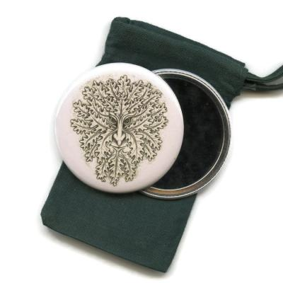 Greenman Pocket Handbag Mirror