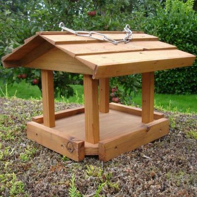 Handcrafted Hanging Bird Table