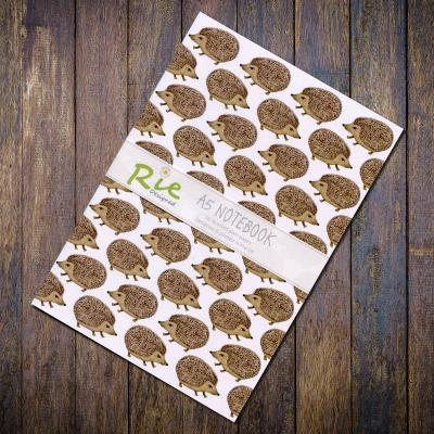 Hedgehog A5 Recycled Notebook