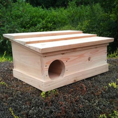 Hand Crafted Hedgehog House