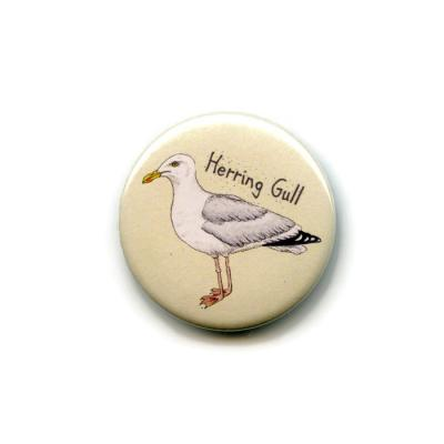 Herring Gull Fridge Magnet