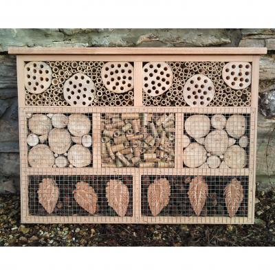 Large Bee and Bug Hotel
