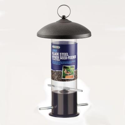 Gardman Large Black Steel Nyjer Feeder