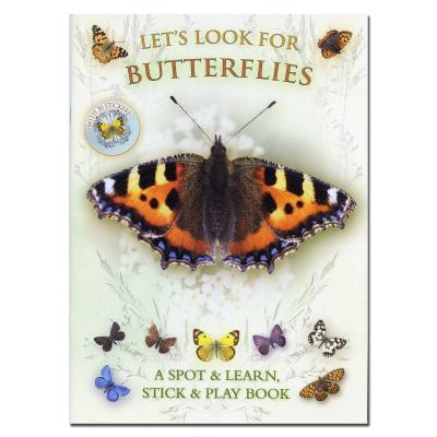 Lets Look for Butterflies Spotter and Sticker Book
