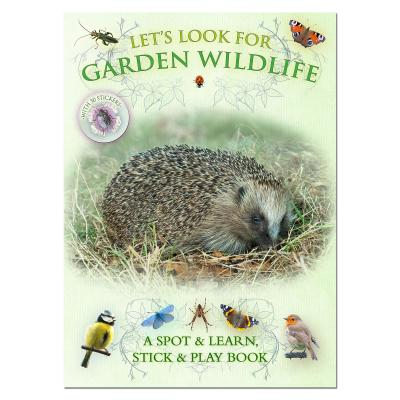 Lets Look for Garden Wildlife Spotter and Sticker Book