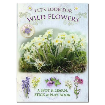 Lets Look for Wild Flowers Spotter and Sticker Book
