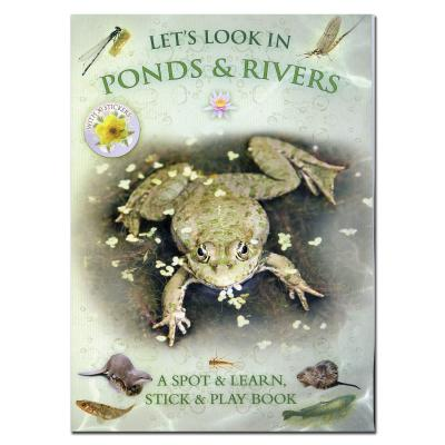 Lets Look in Ponds and Rivers Activity and Sticker Book
