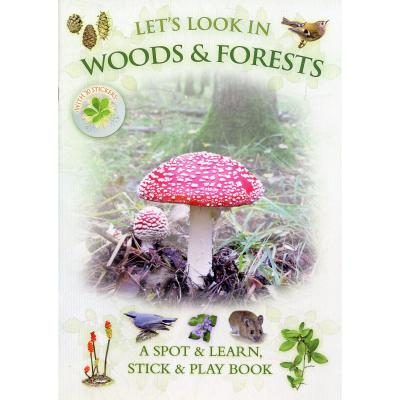 Lets Look in Woods and Forest Nature Sticker Book