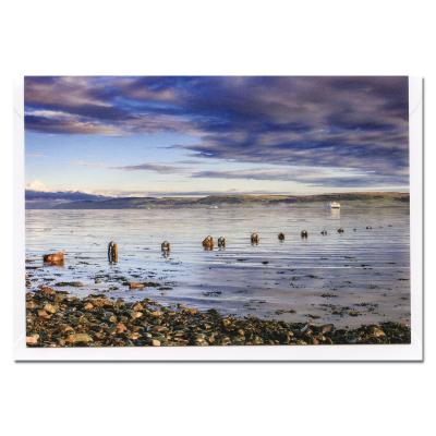 Loch Ryan Blank Photographic Greetings Card A6