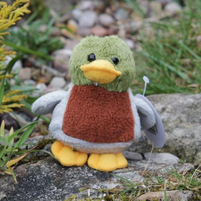 Mallard Duck Bean Buddy Mini Soft Toy