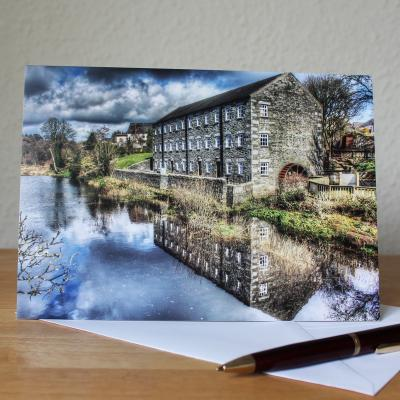 Mill on the Fleet Blank Photographic Greetings Card