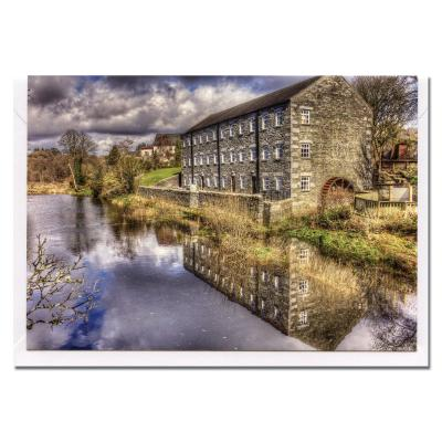 Mill on the Fleet Blank Photographic Greetings Card A6