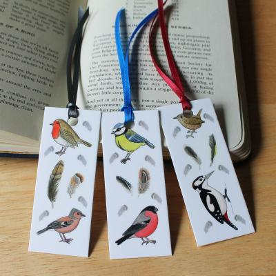 Mini Bird Bookmarks Set