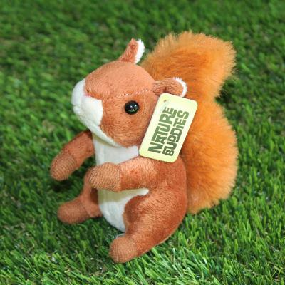 Mini Red Squirrel Bean Buddy Soft Toy