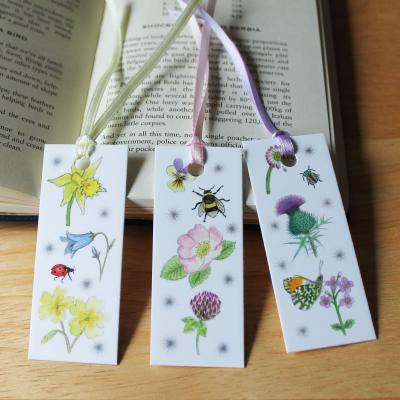 Mini Wildflower Bookmarks Set